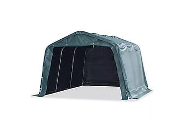 Flyttbart kvegtelt PVC 550 g/m² 3,3x4,8 m mørkegrønn