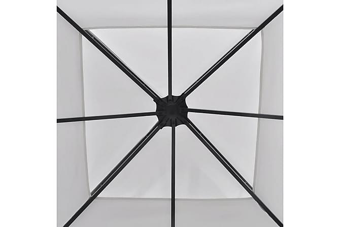 Hagetelt 3x3 m hvit - Hage - Utendørsoppbevaring - Hagetent & lagertelt