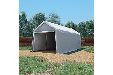 Oppbevaringstelt PVC 550 g/m² 3x6 m hvit