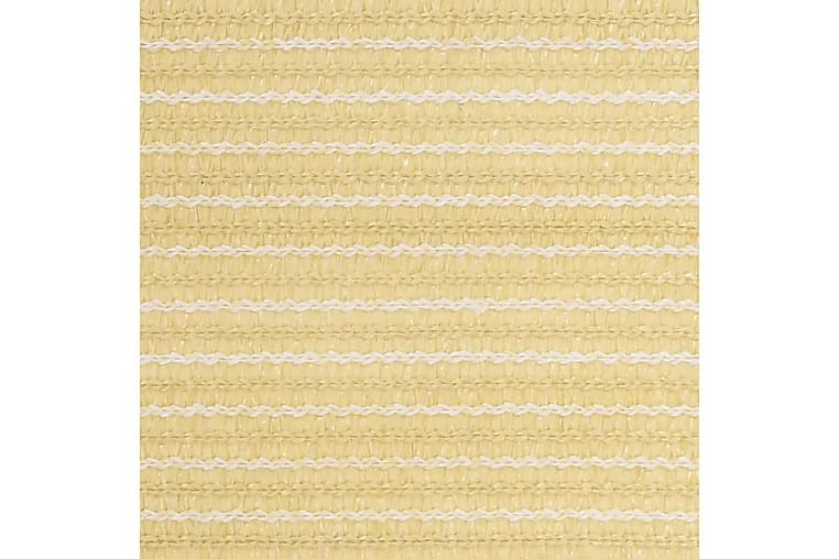 Teltteppe 200x300 cm beige - Hage - Utendørsoppbevaring - Hagetent & lagertelt