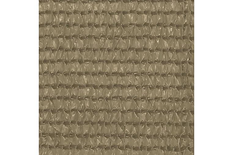 Teltteppe 400x400 cm gråbrun - Taupe - Hage - Utendørsoppbevaring - Hagetent & lagertelt