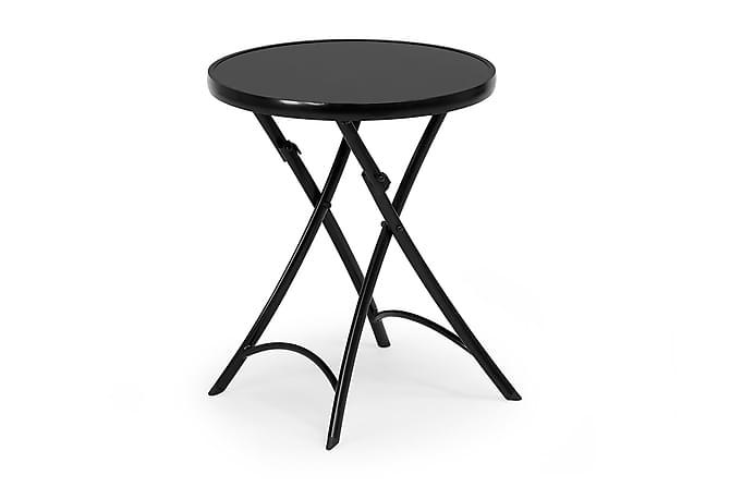Belinge Bord 60cm - svart - Hagemøbler - Hagebord - Cafébord