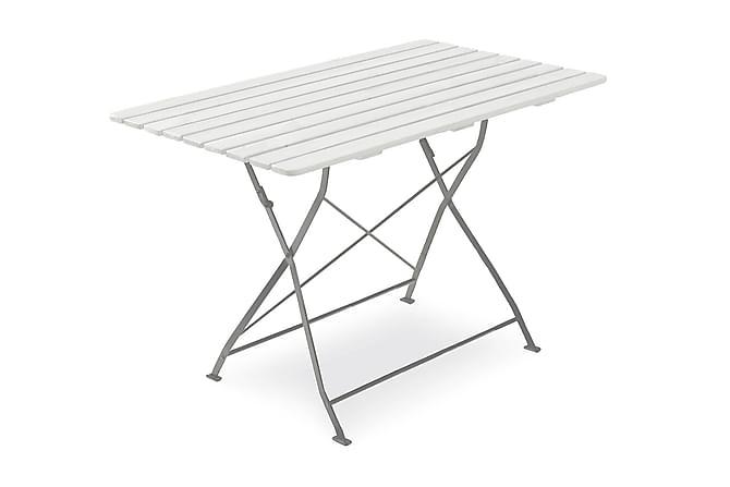 Hillerstorp Krögaren Cafébord 70x120 cm - Hvit - Hagemøbler - Hagebord - Cafébord