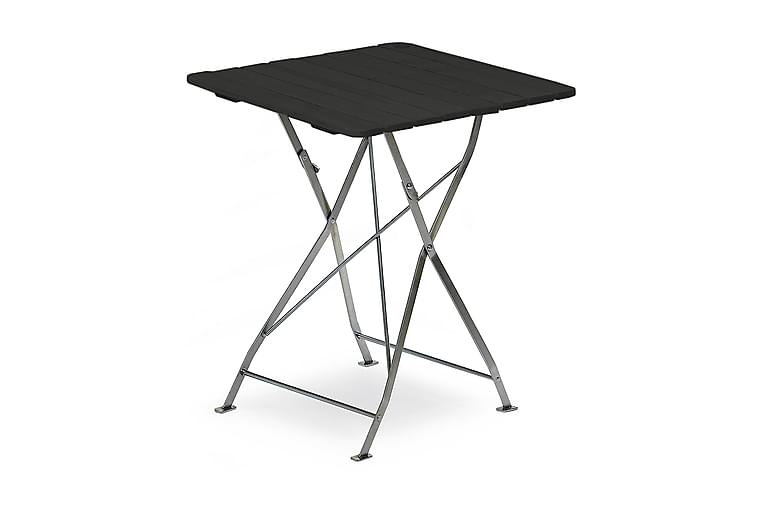 Krøgaren Kafébord 70x70cm - Svartlasert/Sink - Hagemøbler - Hagebord - Cafébord