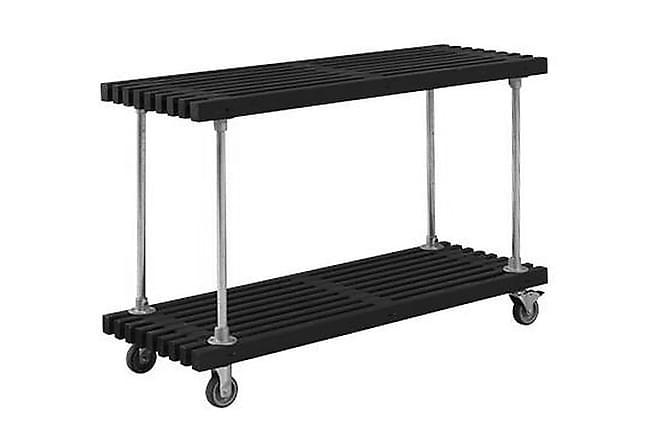 Jocke Grill/Arbeidsbord - Svart - Hagemøbler - Hagebord - Grillbord