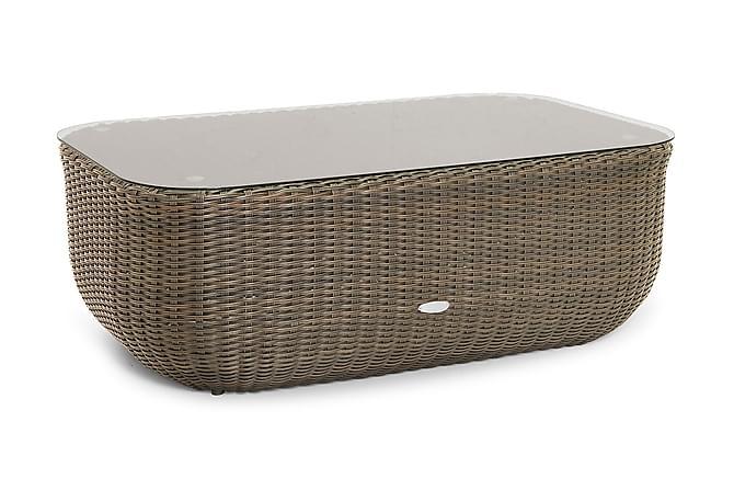 Monte Carlo Bord 110x70 cm - Beige - Hagemøbler - Hagebord - Sofabord