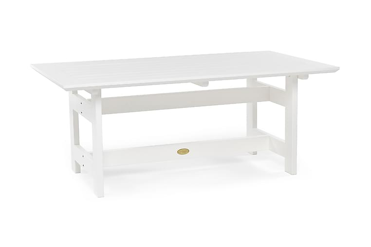 Herrgård Bord 165 cm - Hvit - Hagemøbler - Hagebord - Spisebord