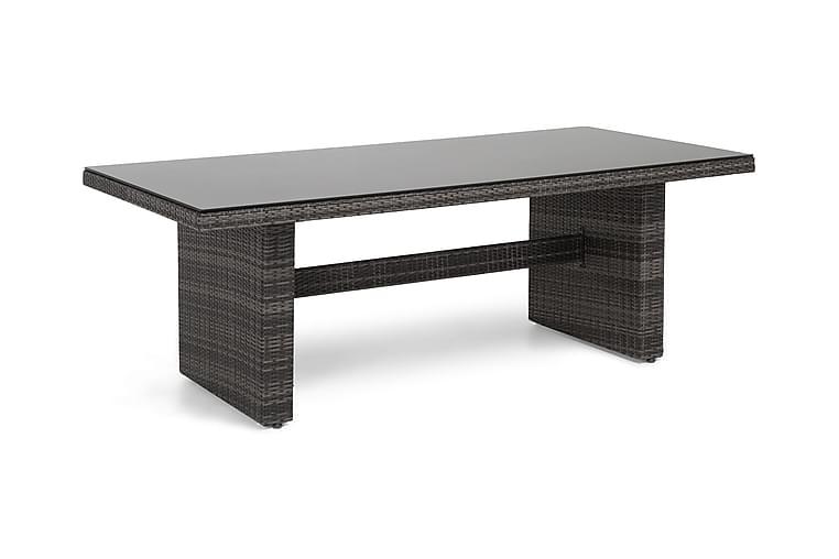 Majestic Spisebord 210x100 cm - Grå - Hagemøbler - Hagebord - Spisebord