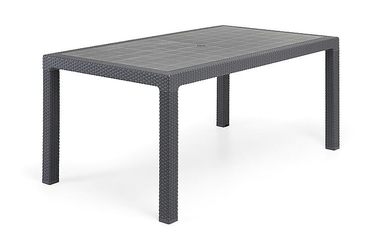 Melody Bord 160x64 cm - Antrasittgrå - Hagemøbler - Hagebord - Spisebord