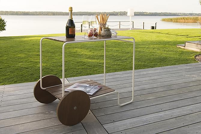 Oas Serveringsvogn - Hagemøbler - Hagebord - Avlastningsbord & brettbord