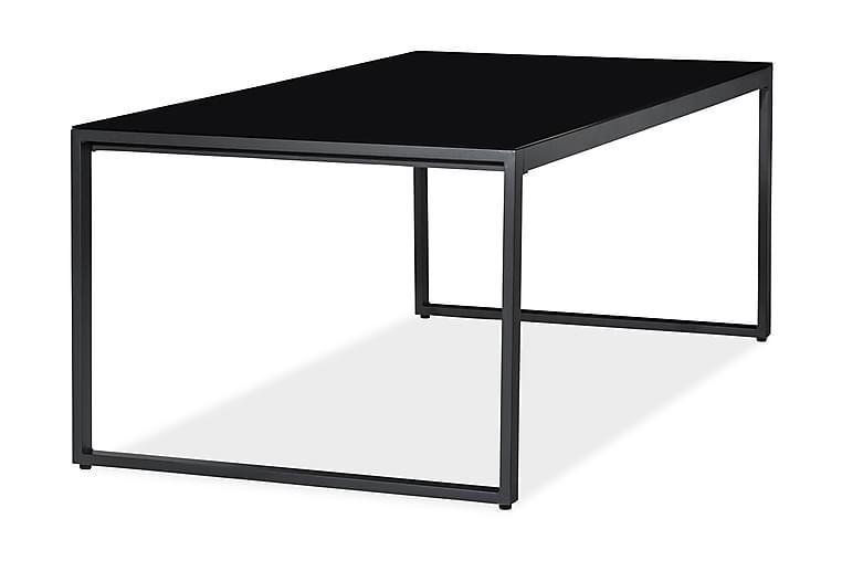 Silvia Spisebord 200x100 cm - Svart - Hagemøbler - Hagebord - Spisebord