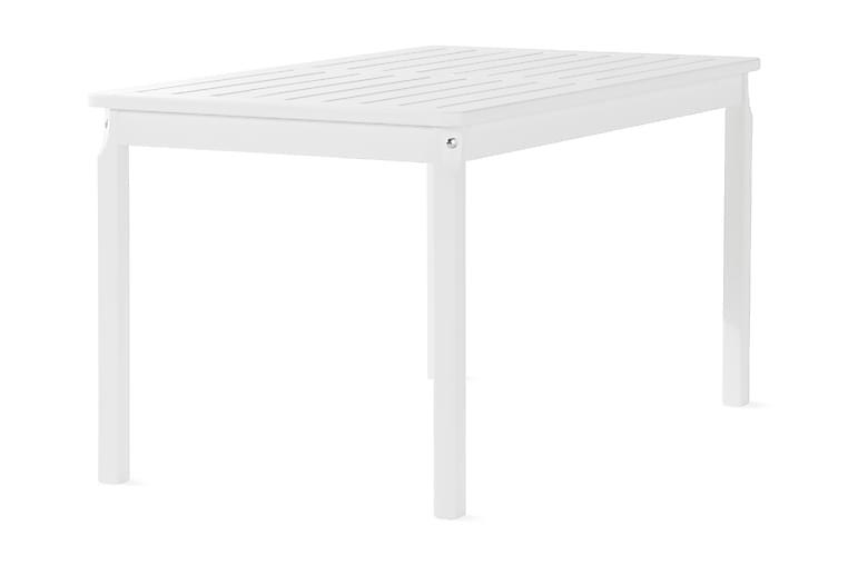 Svensboda Fasta Spisebord 135 cm Hvit - KWA - Hagemøbler - Hagebord - Spisebord