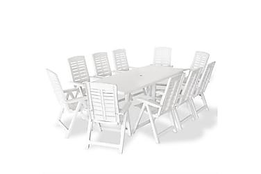 Beaumont Spisegruppe 210x96 + 10 Posisjonsstoler