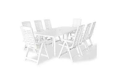 Beaumont Spisegruppe 210x96 + 8 Posisjonsstoler