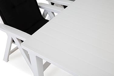 Futura Spisegruppe 165+4 Brasilia Posisjonsstoler