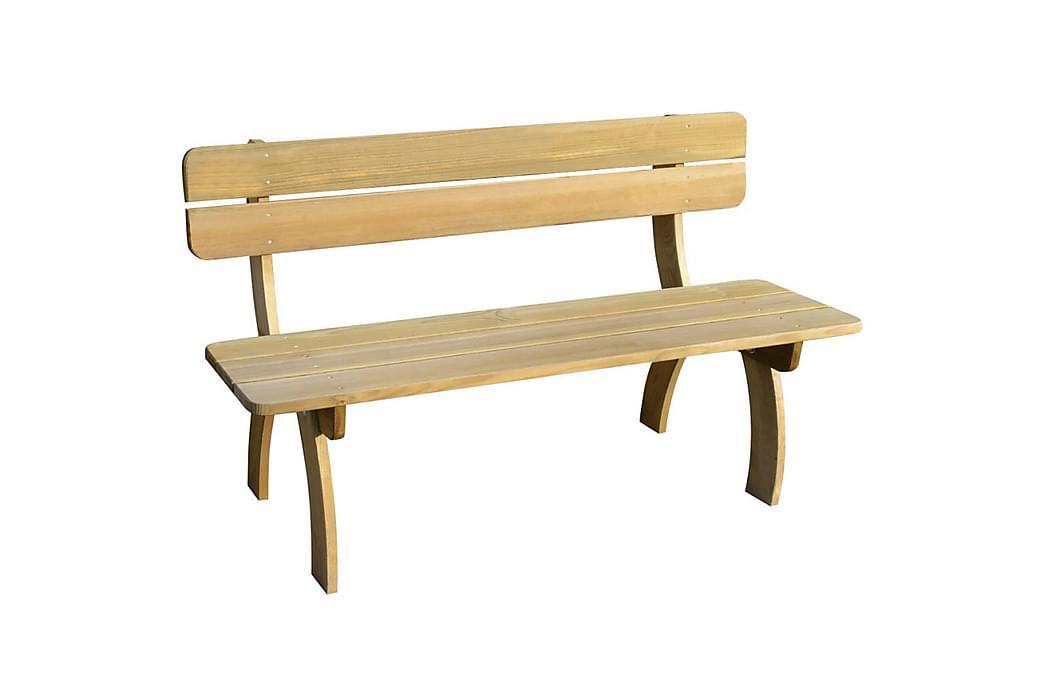 Hagebenk 150 cm impregnert furu - Furu - Hagemøbler - Sofaer & benker - Benker