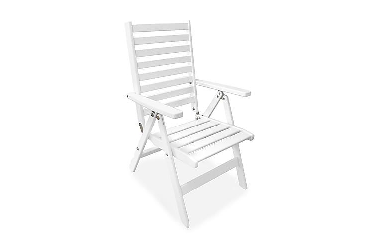 Grevie Posisjonsstol - Hvit - Hagemøbler - Stoler & Lenestoler - Posisjonsstoler