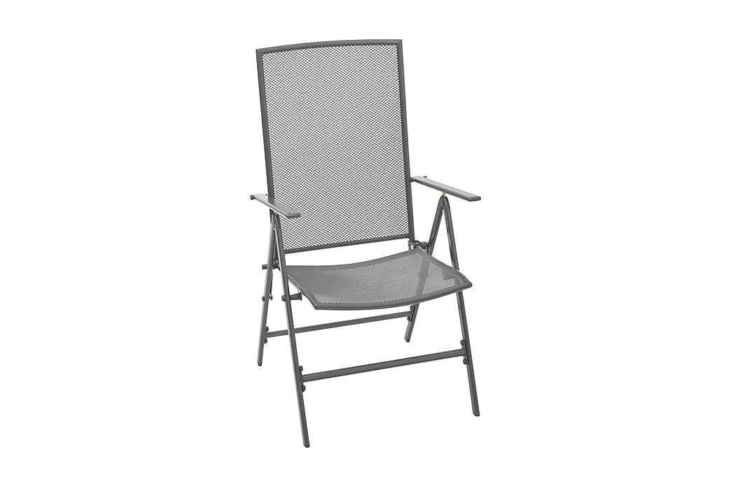 Sunnyvale Posisjonsstol 2-pk - Grå - Hagemøbler - Stoler & Lenestoler - Posisjonsstoler