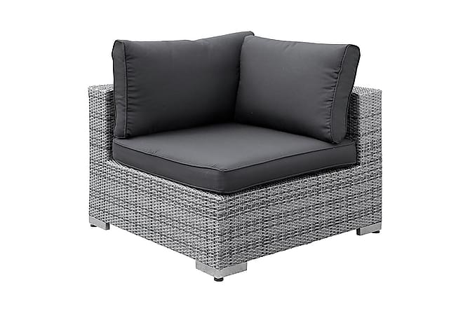 Bahamas Hjørnemodul - Grå - Hagemøbler - Loungemøbler - Moduler