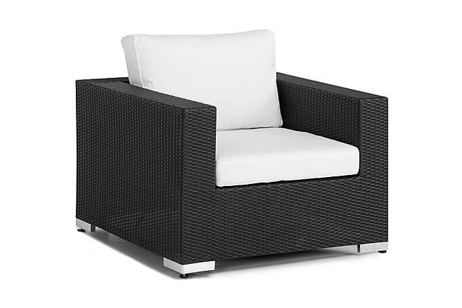 Bahamas Loungelenestol - Svart - Hagemøbler - Loungemøbler - Moduler