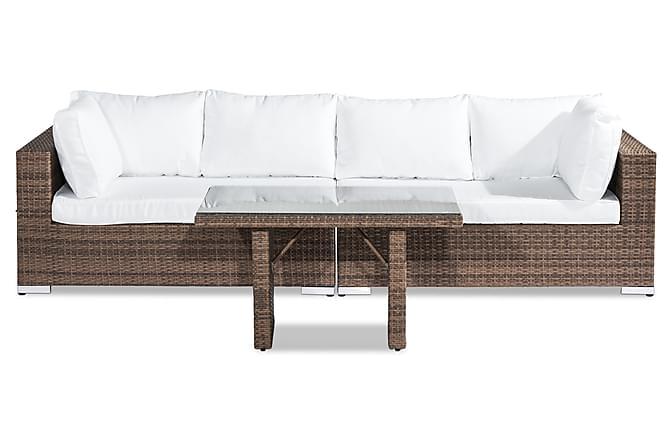 Bahamas Loungegruppe 4-seter - Sand Bord - Hagemøbler - Loungemøbler - Loungegrupper