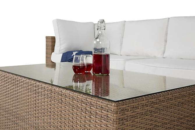 Bahamas Loungegruppe - Sand - Hagemøbler - Loungemøbler - Loungegrupper