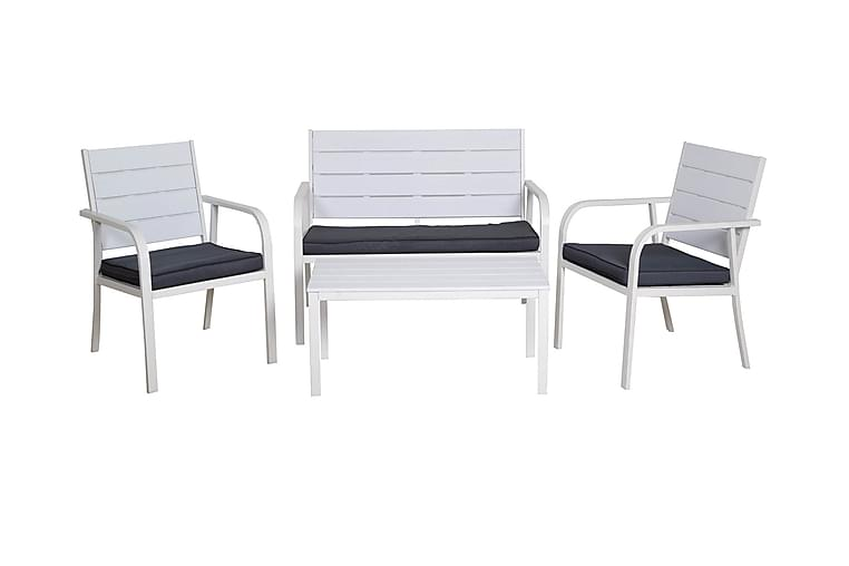 Braga Sofagruppe - Hvit - Hagemøbler - Loungemøbler - Loungegrupper