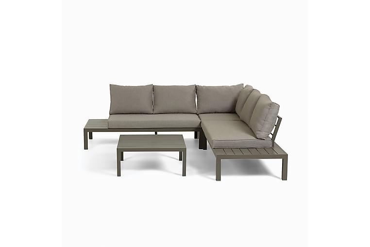 Duka Hjørnesofagruppe 5-seter Brun - La Forma - Hagemøbler - Loungemøbler - Loungegrupper