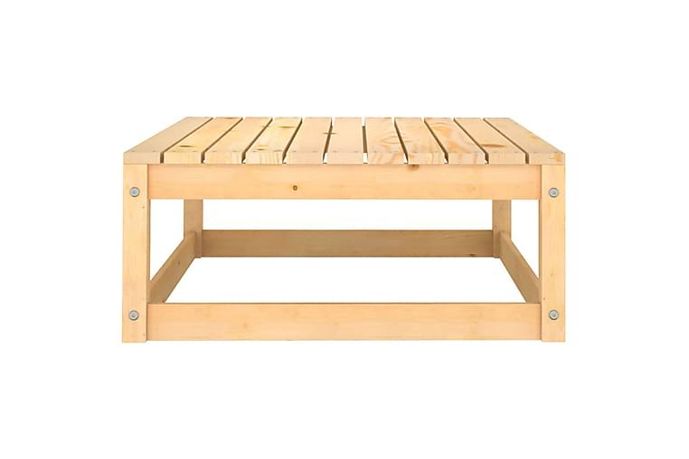 Hagesofagruppe 10 deler heltre furu - Brun - Hagemøbler - Loungemøbler - Loungegrupper