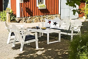 Hillerstorp Gotland Sofagruppe Bord+Bullerö Sofa+2 Lenestol