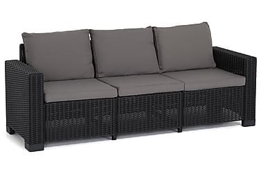 Moorea Sofa 3-seter Kunstrotting