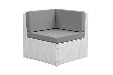 Rolls Loungegruppe 4 pers Hvit