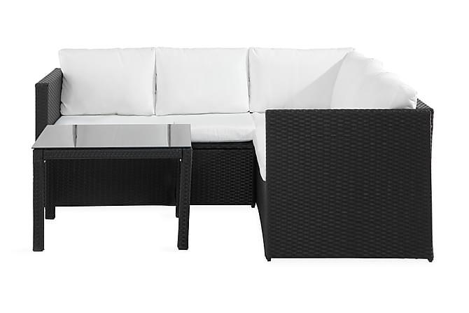 Bahamas Light - Svart / Hvit - Hagemøbler - Loungemøbler - Loungegrupper