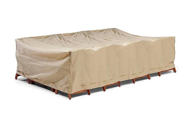 Møbeltrekk Beige - 350X225X95CM - Hagemøbler - Putebokser & møbelbeskyttelse - Møbelbeskyttelse