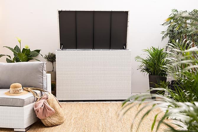 Gigant Putekasse - Hvit - Hagemøbler - Putebokser & møbelbeskyttelse - Putebokser & Putekasser