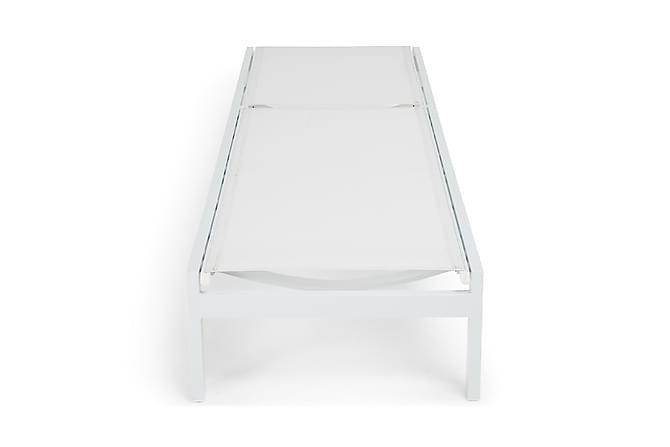 Tunis Solseng - Hvit - Hagemøbler - Velg etter materiale - Aluminium & stål