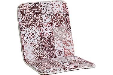 Morocco Minivik Lenestol Rød/Hvit