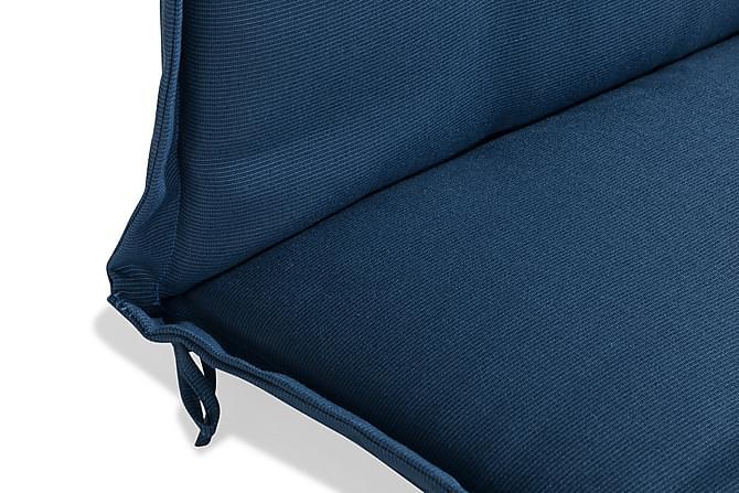 Solsengpute - Blå - Hagemøbler - Puter - Solsengputer