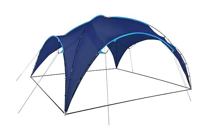 Festtelt bue 450x450x265 cm mørkeblå - Hagemøbler - Solbeskyttelse - Avskjerming & vindskjerm