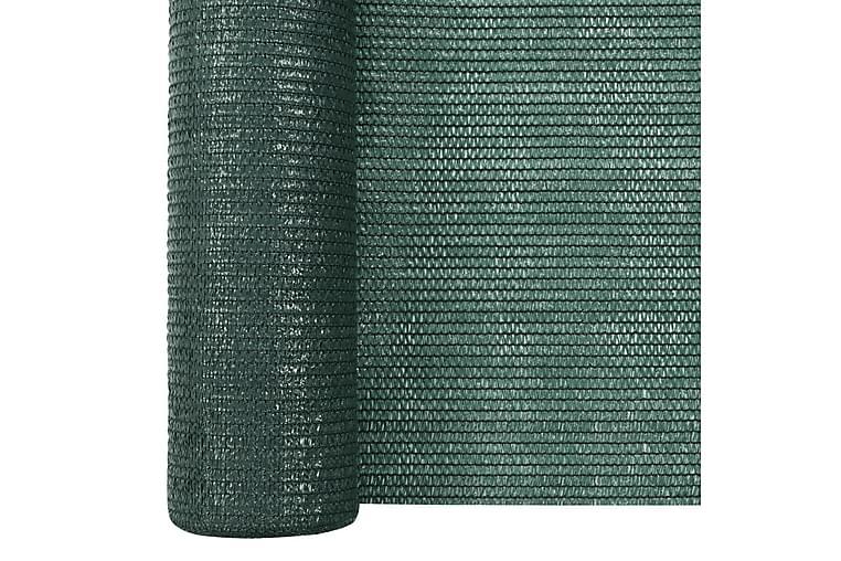 Skjermnett grønn 3,6x50 m HDPE 75 g/m² - grønn - Hagemøbler - Solbeskyttelse - Avskjerming & vindskjerm