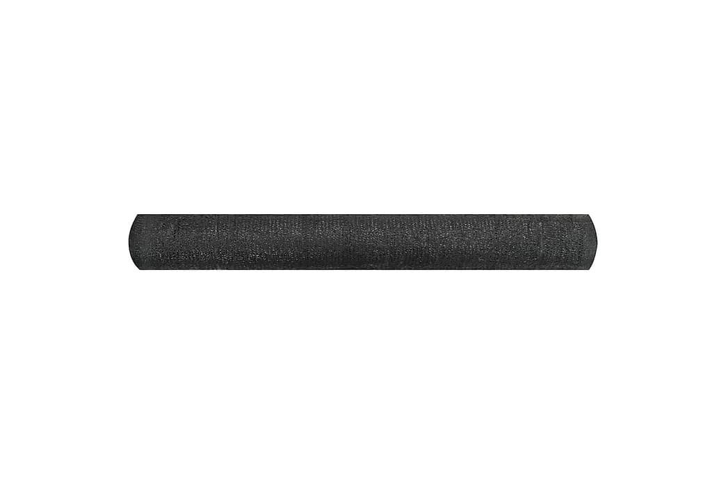 Skjermnett svart 1,5x50 m HDPE 150 g/m² - Svart - Hagemøbler - Solbeskyttelse - Avskjerming & vindskjerm