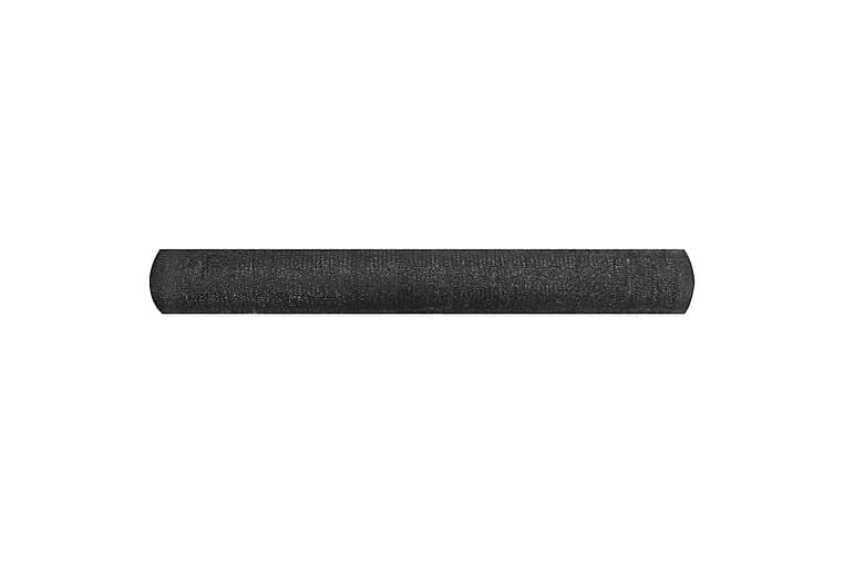 Skjermnett svart 1,8x50 m HDPE 195 g/m² - Svart - Hagemøbler - Solbeskyttelse - Avskjerming & vindskjerm