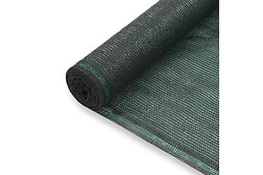 Tennisskjerm HDPE 2x100 m grønn