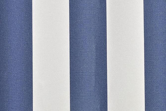 Markiseduk blå & hvit 6x3 m - Hagemøbler - Solbeskyttelse - Markiser