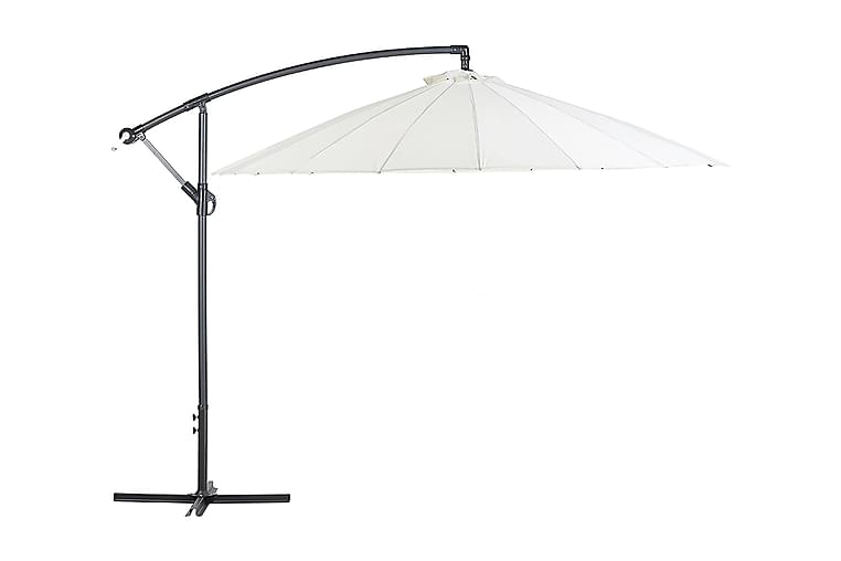 Calabria Ii Parasoll 235 cm - Beige - Hagemøbler - Solbeskyttelse - Parasoller