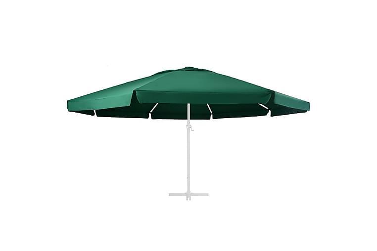 Erstatningsstoff for hageparasoll grønn 600 cm - Hagemøbler - Solbeskyttelse - Parasoller