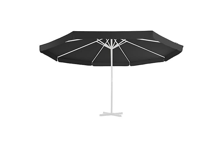 Erstatningsstoff for hageparasoll svart 500 cm - Hagemøbler - Solbeskyttelse - Parasoller