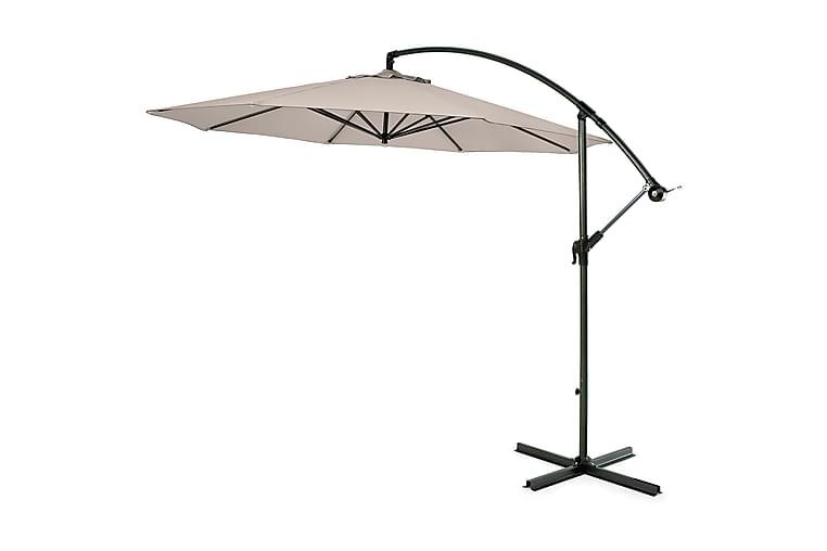 Hillerstorp Hengeparasoll 300 cm - Beige - Hagemøbler - Solbeskyttelse - Parasoller