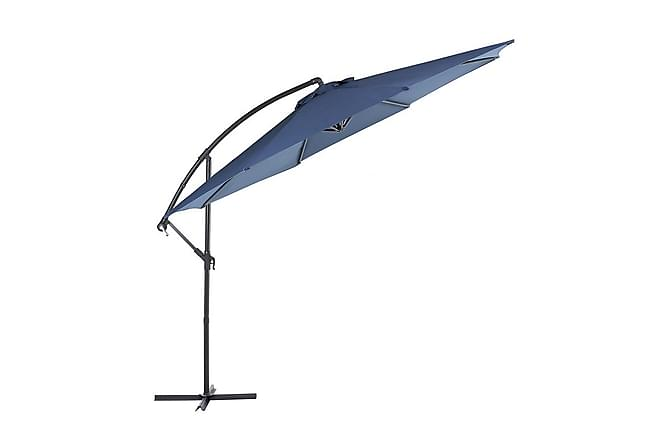 Ravenna Parasoll 240 cm - Blå - Hagemøbler - Solbeskyttelse - Parasoller