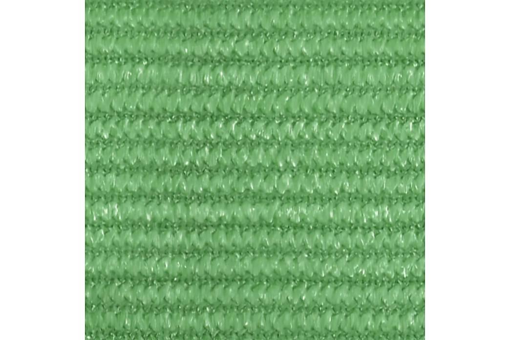 Solseil 160 g/m² lysegrønn 2,5x4 m HDPE - grønn - Hagemøbler - Solbeskyttelse - Solseil
